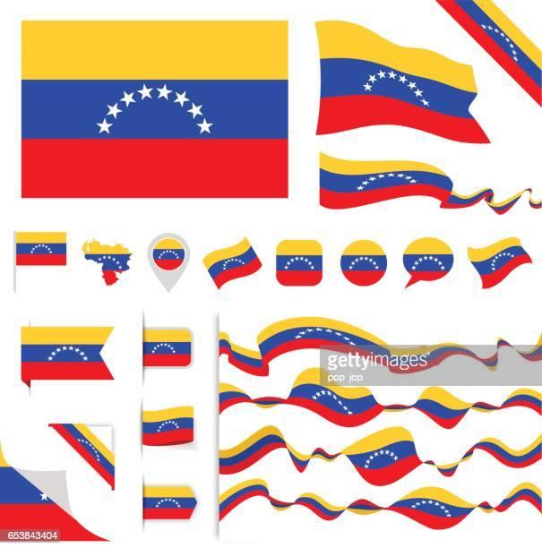 Venezuela Flag Set