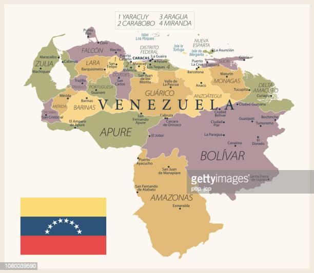 ilustrações, clipart, desenhos animados e ícones de 21 - venezuela - vintage isolado 10 - valencia spain