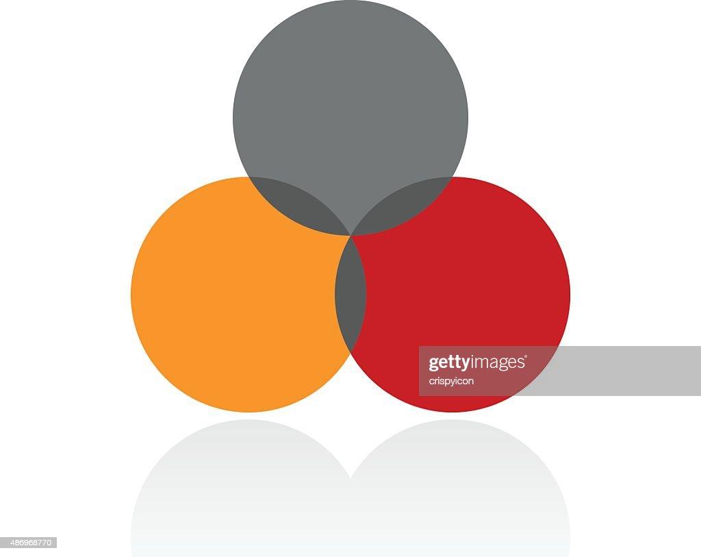Venn diagram icon on a white background vector art getty images venn diagram icon on a white background vector art ccuart Choice Image