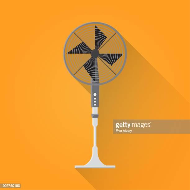 ventilator flat icon - medical ventilator stock illustrations, clip art, cartoons, & icons