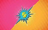 Versus duel fighting background
