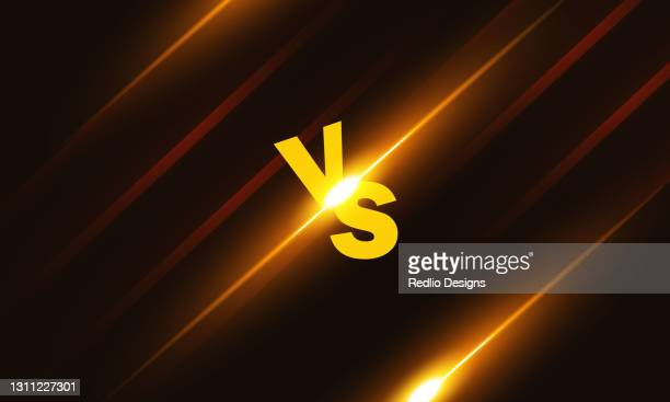 versus vs letters fight backgrounds in shiny style design.stock illustration - sports round stock illustrations