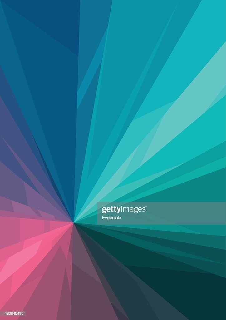 Vertical abstract background with color graphic elements.