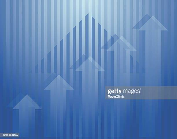 vertical arrows abstract - bull market stock illustrations, clip art, cartoons, & icons