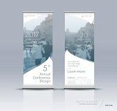 Vertical banner design