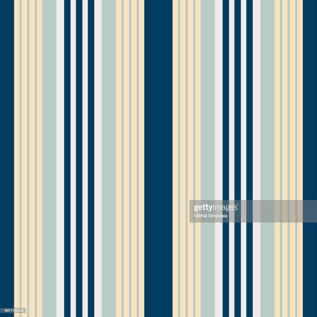 Vertical bluish stripes seamless print vector