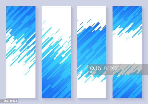 垂直ダッシュ抽象背景バナー - 斜めから見た図点のイラスト素材/クリップアート素材/マンガ素材/アイコン素材