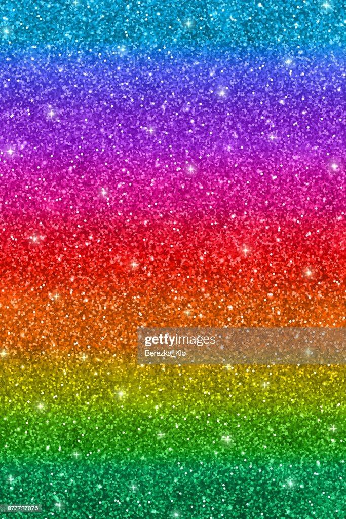 Vertical multicolored glitter background