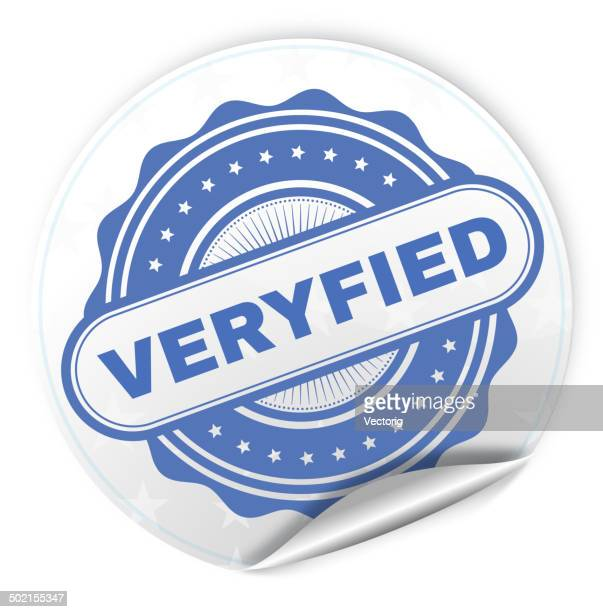 Veryfied Sticker