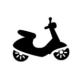 Vespa icon. Trendy Vespa logo concept on white background from Transportation collection