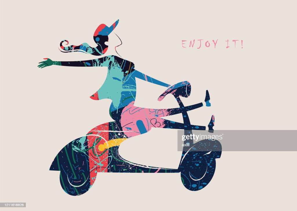 vespa woman scooter driving fun vector illustration high res vector graphic getty images vespa woman scooter driving fun vector illustration high res vector graphic getty images