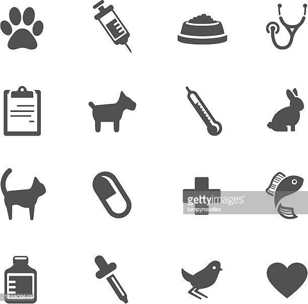 vet symbols - dog food stock illustrations, clip art, cartoons, & icons