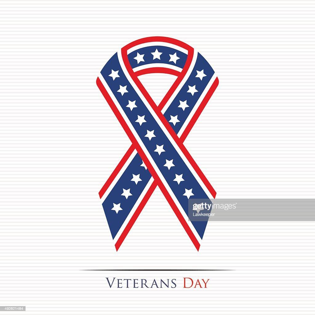 Veterans Day ribbon