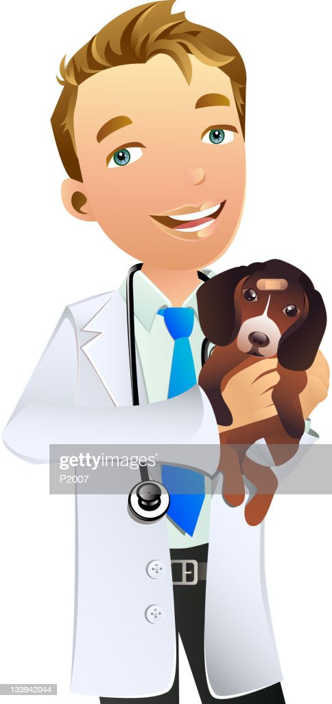 Veterinarian : Vectorkunst