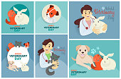 Veterinary day set.