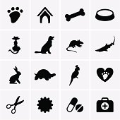 Veterinary Pet Icons