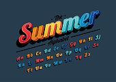 Vibrant alphabet