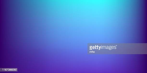vibrant bokeh background - colour gradient stock illustrations