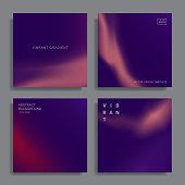 vibrant gradient shapes