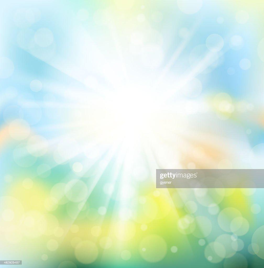 vibrant sunlight
