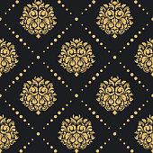 Victorian baroque pattern
