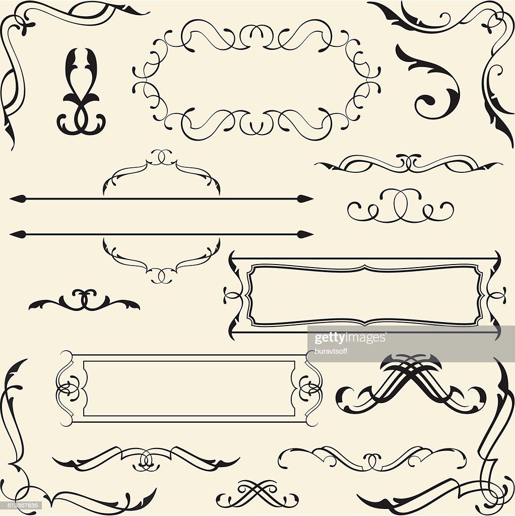 Victorian design set