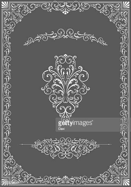 victorian frame - construction frame stock illustrations