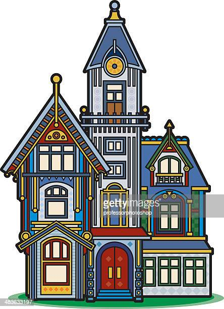 Victorian House Stock Illustrations And Cartoons | Getty ...