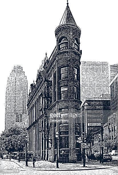 Victorian Bürogebäude. Toronto, Kanada
