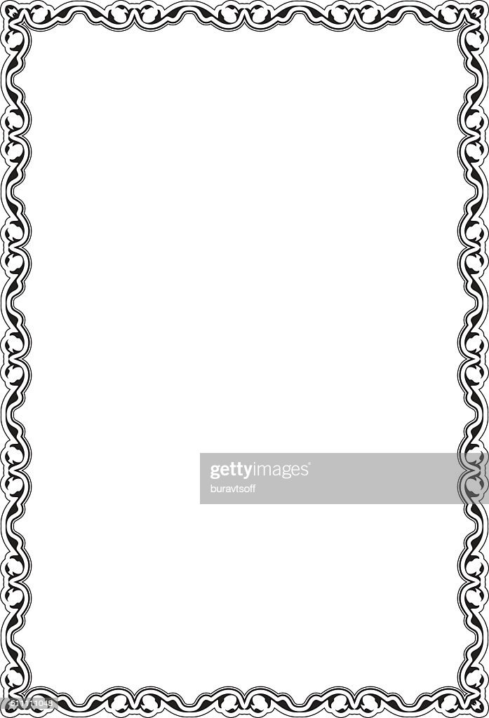 Victorian Retro Nice Frame Vector Art | Getty Images