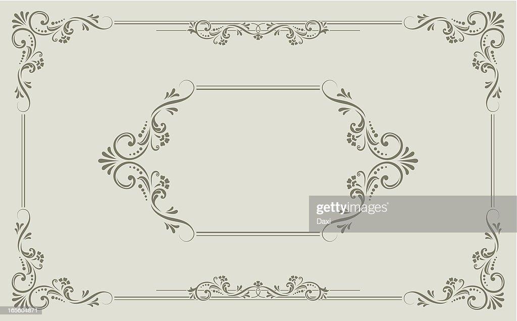 Victorian Scroll