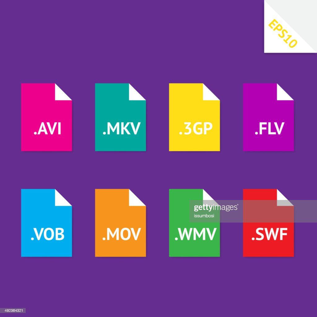 Video file formats