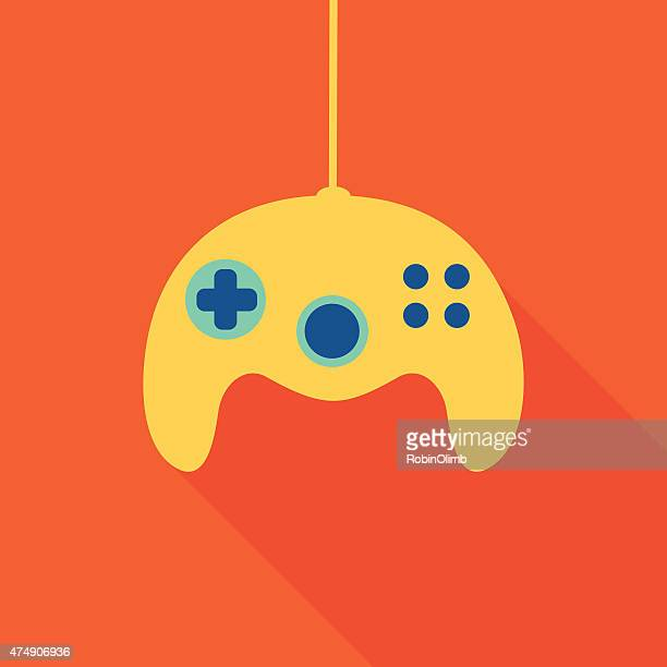 video game controller 6 - controller stock illustrations, clip art, cartoons, & icons