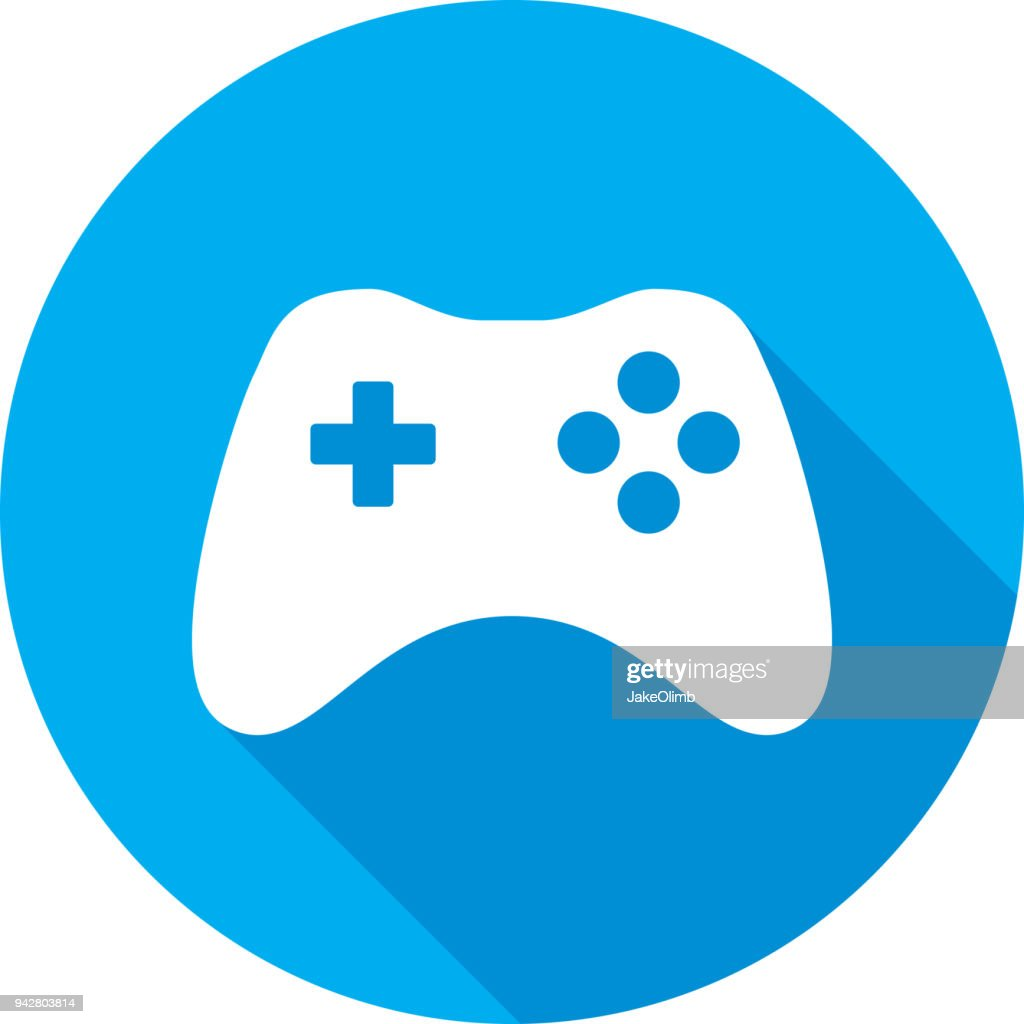 Video Game Controller Icon Silhouette High Res Vector Graphic Getty Images