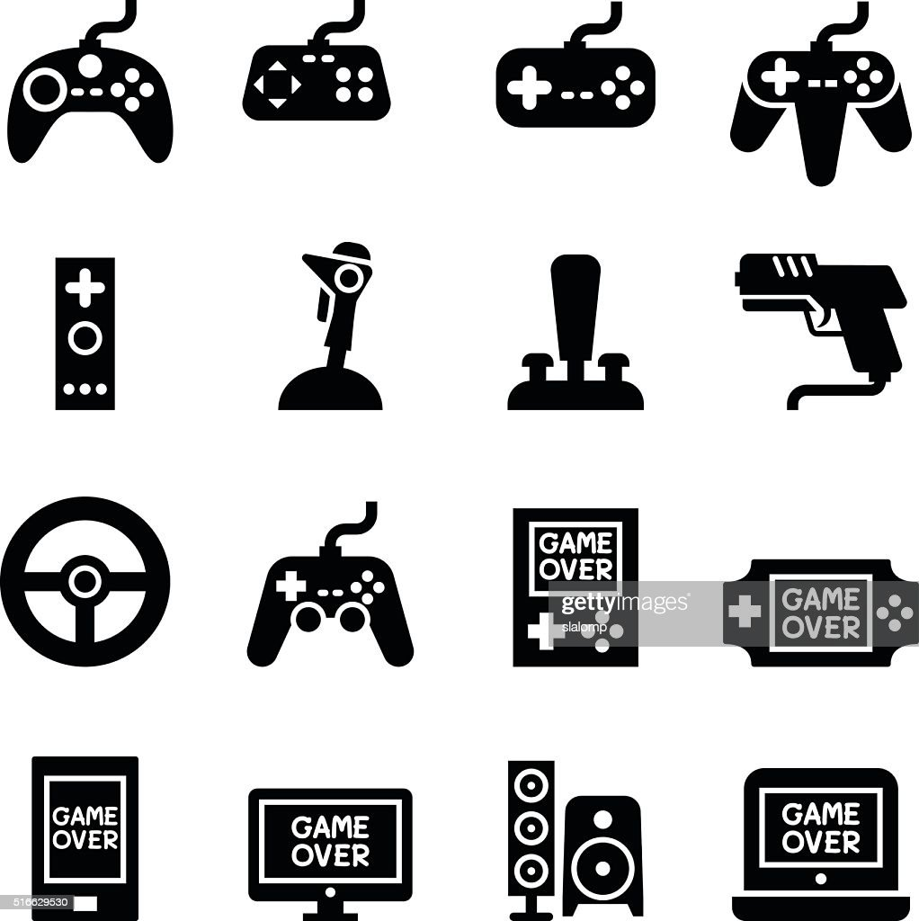 Video game Controller, Joystick Gamepad icon