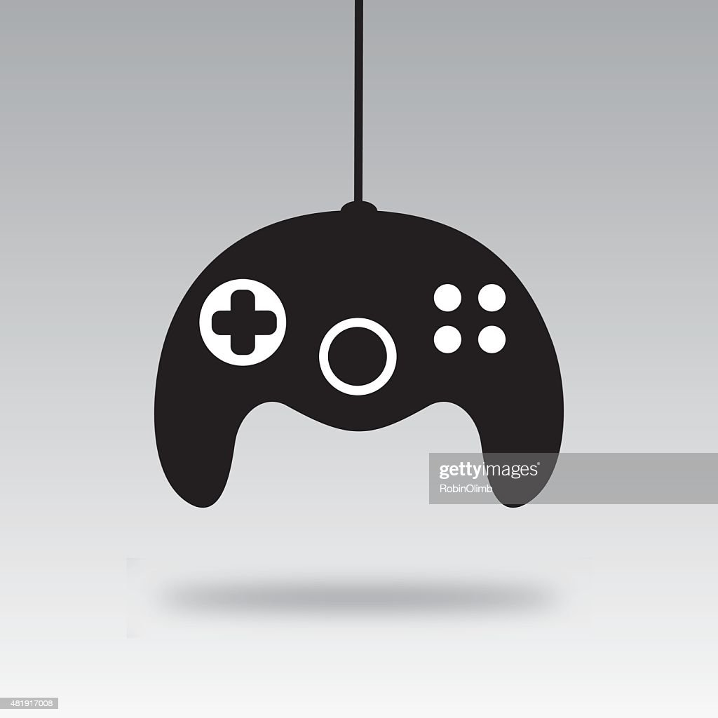 Video Game Controller Silhouette F Vector Art Getty Images
