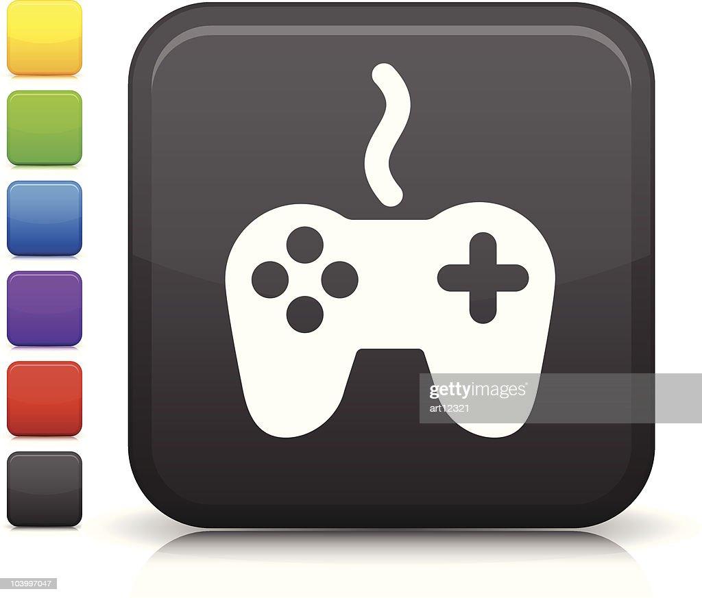 video game controller square icon