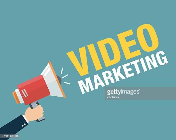 video marketing - video still stock illustrations, clip art, cartoons, & icons