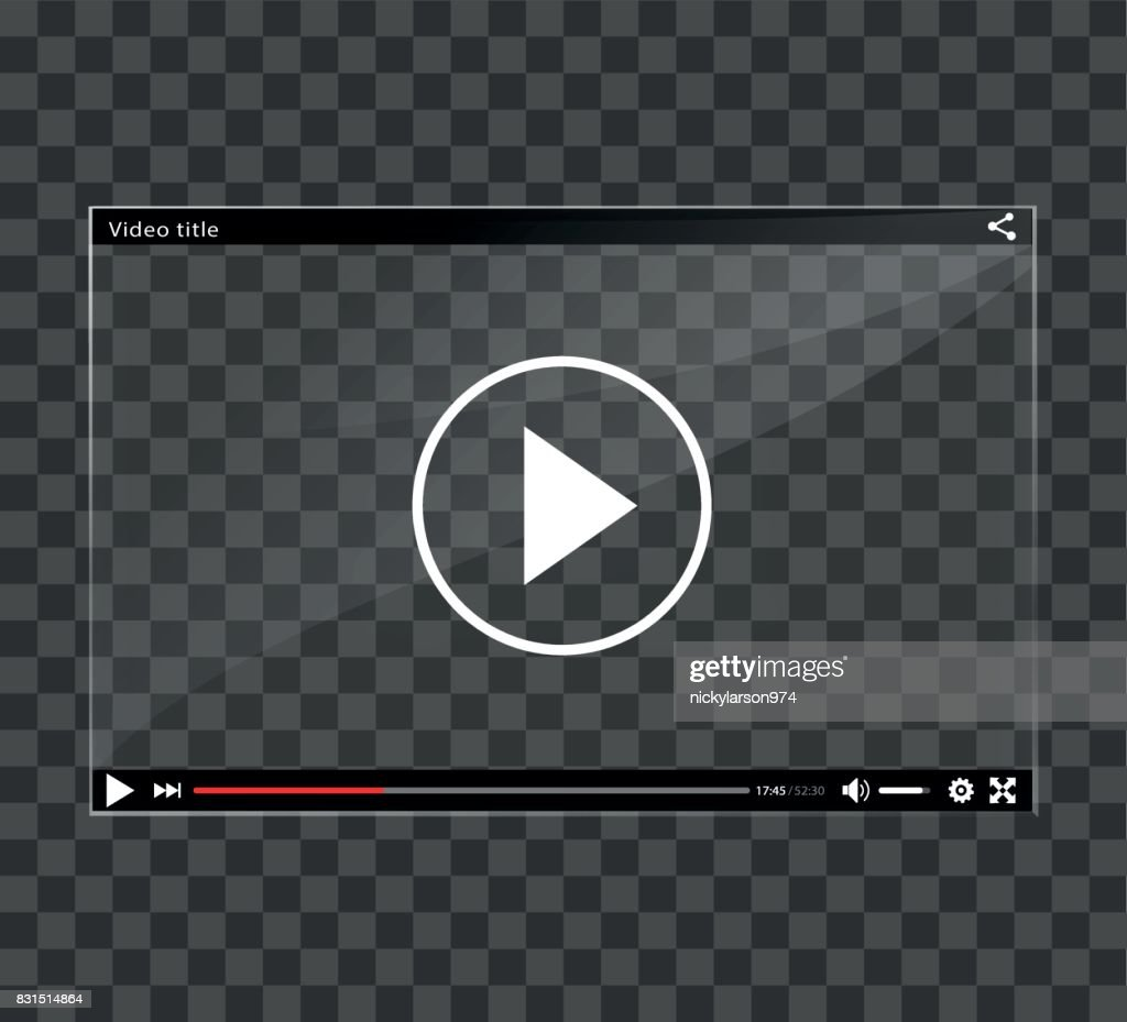 video player window