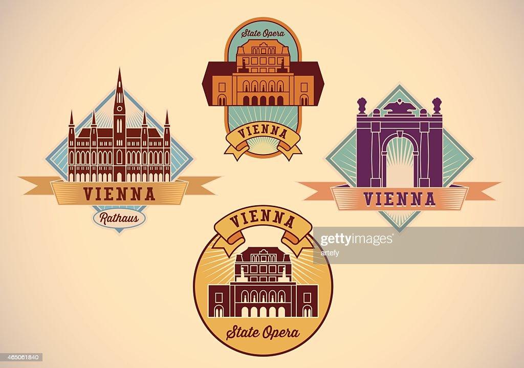 Vienna labels