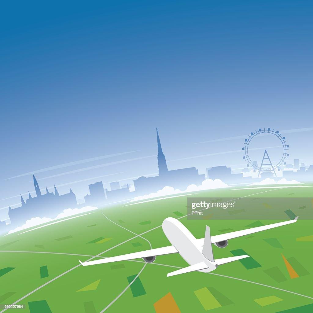 Vienna Skyline Flight Destination