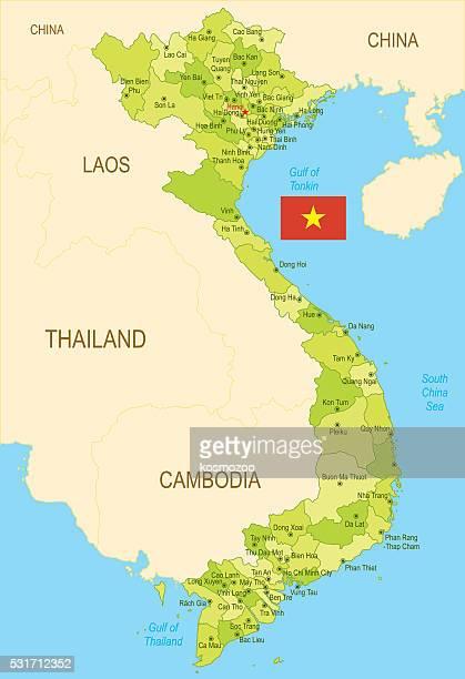 Map Of Asia Vietnam War.60 Top Vietnam Stock Illustrations Clip Art Cartoons Icons