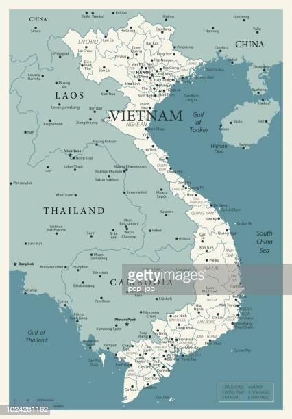 23 - vietnam - vintage murena 10 - vietnam stock illustrations