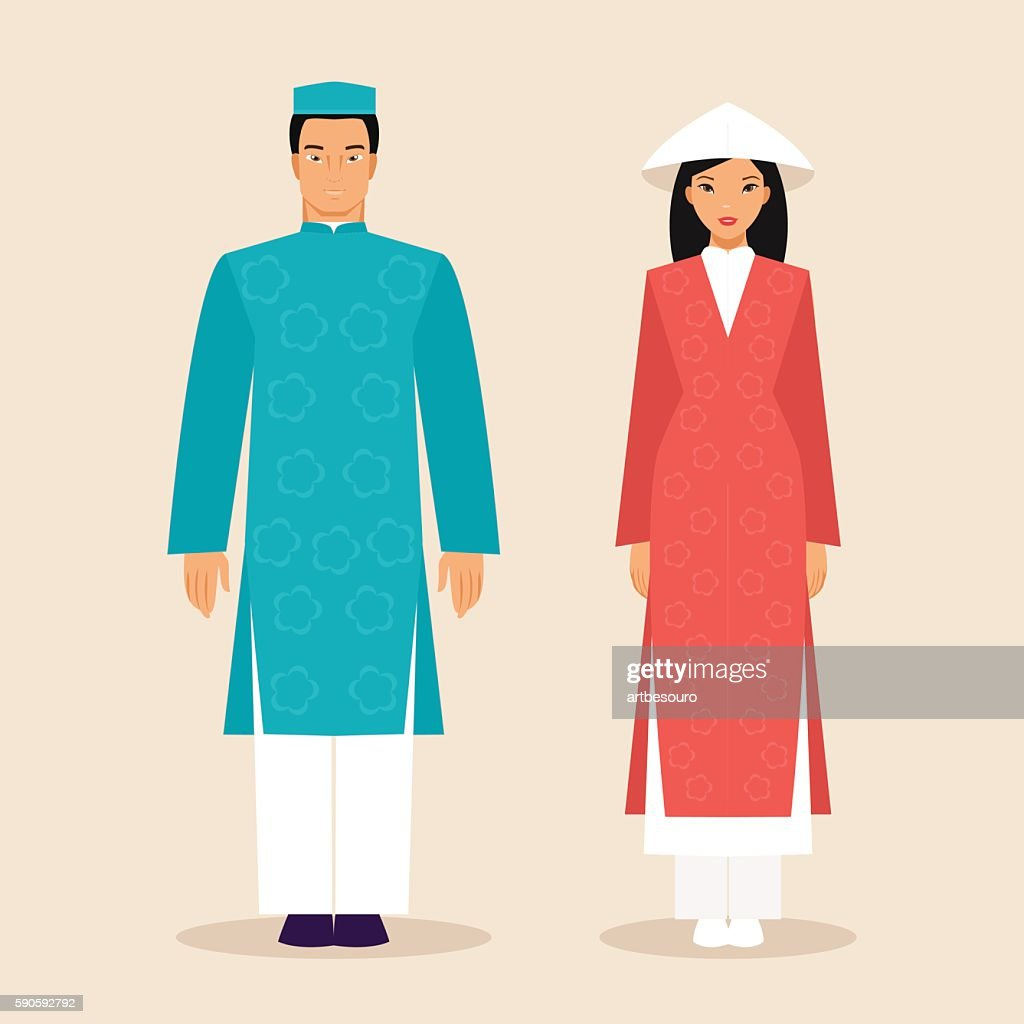 Vietnamese man and a woman