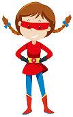 A vigilante female super hero