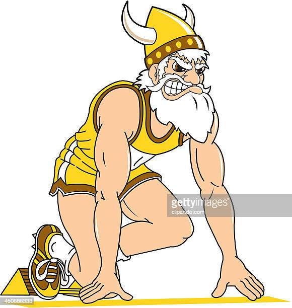 Viking at the Starting Block