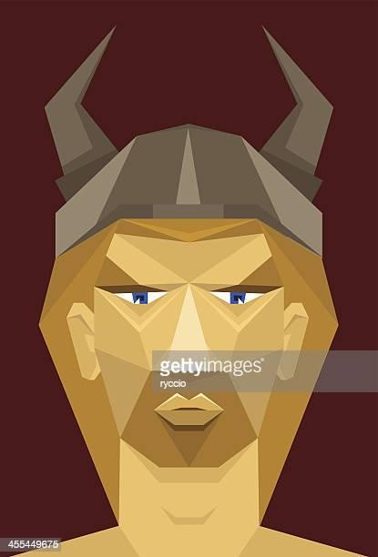 viking mann mit bart - eisen stock-grafiken, -clipart, -cartoons und -symbole