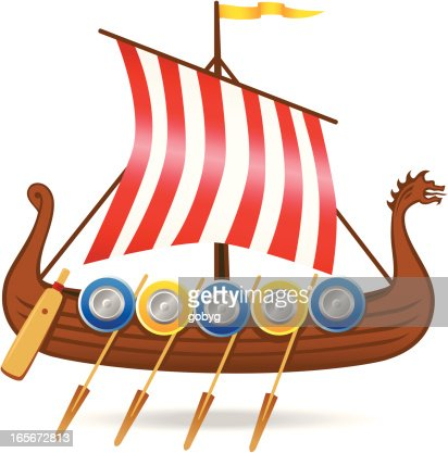Viking Ship stock illustration - Getty Images