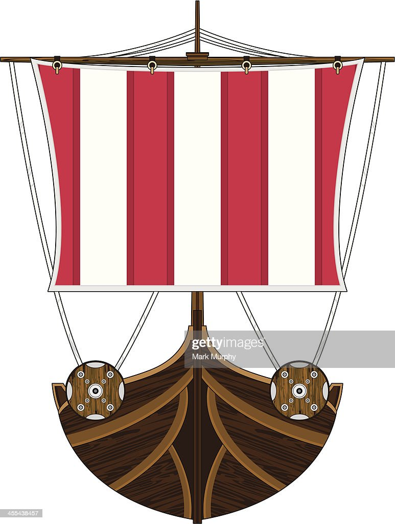 Viking Ship High-Res Vector Graphic - Getty Images