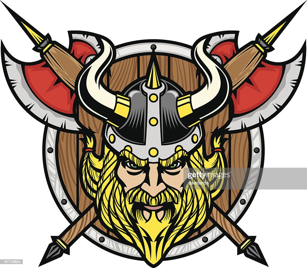 Viking Warrior Head High-Res Vector Graphic - Getty Images
